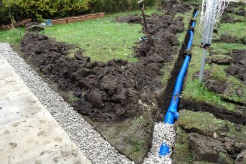 Example Garden Drainage