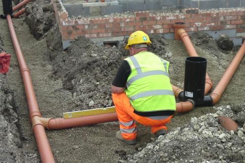 Brand New Drainage Installation
